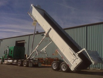 VALEW 40' END DUMP TRAILER