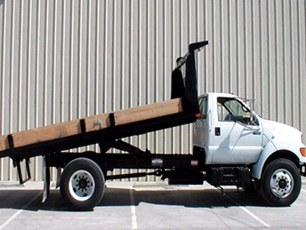 VALEW 16' FLATBED DUMP BODY