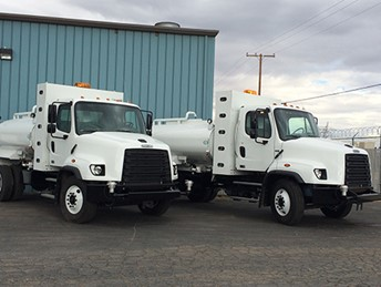 VALEW CUSTOM CNG 2000 GALLON WATER TRUCK